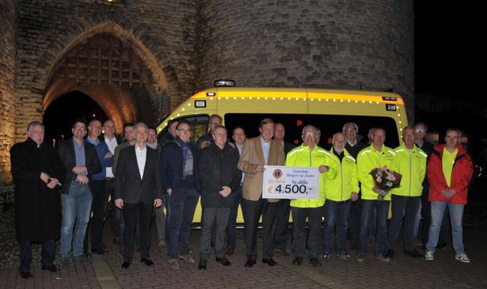 Wens ambulance Brabant